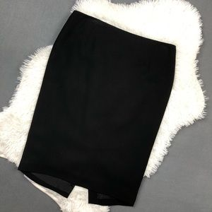 Ann Taylor LOFT Black Pencil Skirt 10